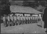 A constabulary company of Bontoc Igorats