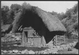 Tinguinans of Northern Luzon.  A Tinguian house