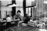 Hillier in chemistry lab
