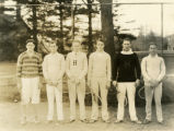 Undated tennis team photograph