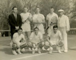 Undated tennis team portrait