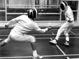 Fencing Practice Bout IV
