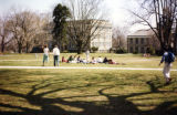 Students on Grass II