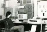 Students on Early Computer