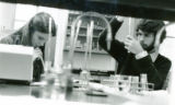 Two Students in Science Lab