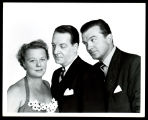 Jane: Publicity portrait of Edna Best, Howard St. John, and John Loder