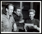 Stalag 17: Allan Melvin and two unidentified actors