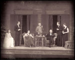 The Philadelphia Story: Cast, seated on verandah