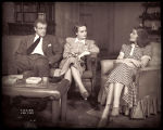 The Philadelphia Story: Van Heflin as Mike Connor, Shirley Booth as Liz Imbrie, and Katharine...