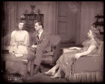 The Philadelphia Story: Katharine Hepburn as Tracy Lord, Joseph Cotten as Dexter Haven, and Lenore...