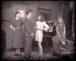 The Philadelphia Story: Vera Allen as Margaret Lord, Dan Tobin as Sandy Lord, Katharine Hepburn as...