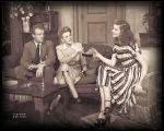 The Philadelphia Story: Van Heflin as Mike Connor, and unidentified actress as Liz Imbrie, and...