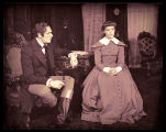 Jane Eyre: Katharine Hepburn as Jane Eyre and Dennis Hoey as Mr. Rochester