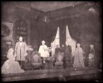 Jane Eyre: Cast, wedding scene