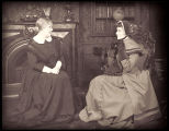 Jane Eyre: Viola Roache as Mrs. Fairfax and Katharine Hepburn as Jane Eyre
