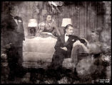 Without Love: Audrey Christie, Elliott Nugent, Katharine Hepburn and an unidentified actor