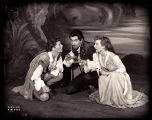 As You Like It: Katharine Hepburn as Rosalind/Ganymede, Ernest Graves as Oliver (?), and Cloris...