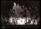 As You Like It: Wide view of stage and cast, wedding scene