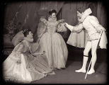 As You Like It: Katharine Hepburn as Rosalind, Vanessa Brown as Celia, and Jay Robinson as Le Beau