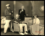 Strange Interlude: Richard Barbee (as Sam Evans, in yachting clothes), Frank Conroy (as Edmund...