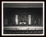 Strange Interlude: Full-stage view of the professor's study, featuring Philip Leigh as Professor...
