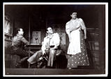 Oklahoma!: Howard da Silva as Jud, Alfred Drake as Curly and Betty Garde as Aunt Eller