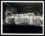 "Oklahoma!: Joan Roberts (as Laurey) and the female cast of Oklahoma! during ""Many a New..."