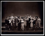 Allegro: Cast, featuring John Battles and Roberta Jonay, center, in Act Two