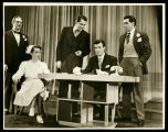 Allegro: Lisa Kirk, John Battles, John Conte and two others from the cast in Act Two