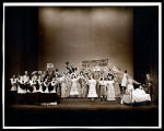 Allegro: Cast at the birth of Joseph Taylor, Jr., opening of Act One