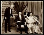 You Never Can Tell: Leo G. Carroll as the Waiter, Ralph Forbes (seated) as Mr. Fergus Crampton,...