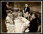 You Never Can Tell: Cast, Act Two luncheon scene