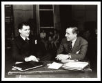 Oscar Hammerstein II (librettist/lyricist) and Richard Rodgers (composer)