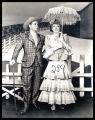 Oklahoma!: David Burns as Ali Hakim and Pamela Britton as Ado Annie