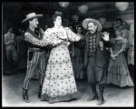 Oklahoma!: Owen Martin as Cord Elam, Edith Gresham as Aunt Eller, and Dave Mallen (?) as Andrew...