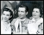 Oklahoma!: Carolyn Tanner as Laurey, Wilton Clary as Curly, and Edith Gresham as Aunt Eller