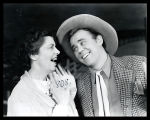 Oklahoma!: Edith Gresham as Aunt Eller and James Parnell as Will Parker
