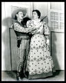 Oklahoma!: Owen Martin as Cord Elam and Edith Gresham as Aunt Eller