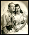 Oklahoma!: Roy Milton and Alicia Krug as Dream Curly and Dream Laurey, seated, view I