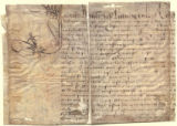 Document to Coligny (?)