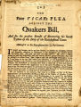 The poor vicar's plea against the Quakers Bill, and for the present benefit of recovering his...