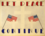 Let peace continue.