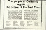 People of California Appeal to The People of New York, The