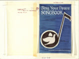 Sing Your Peace Songbook