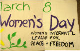 Celebrate March 8.  International Women's Day.  Alice Paul Women's [symbol] Center.