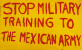 Stop Military Training to the Mexican Army