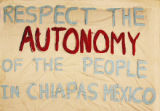 Respect the Autonomy of the People in Chiapas Mexico