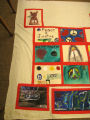 Peace sees no difference, true peace is blind.  Peace and Justice.  Love not war.  etc. . . .