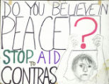 Do You Believe in Peace? Stop Aid to Contras