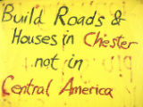 Build Roads & Houses in Chester not in Central America